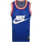 Product Image for Nike Mesh Logo Vest Blue
