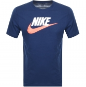 Product Image for Nike Futura Icon T Shirt Navy