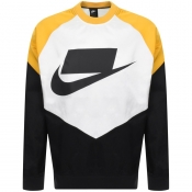 Nike Crew Neck Sportswear Sweatshirt Yellow
