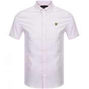 Lyle And Scott Short Sleeved Oxford Shirt Pink