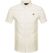 Lyle And Scott Short Sleeved Oxford Shirt Yellow