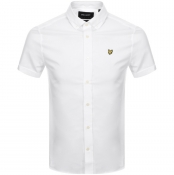 Lyle And Scott Short Sleeved Poplin Shirt White