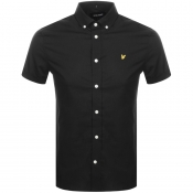 Lyle And Scott Short Sleeved Poplin Shirt Black