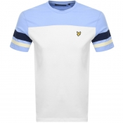 Product Image for Lyle And Scott Contrast Band T Shirt White