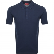 HUGO Donos 193 Polo T Shirt Navy