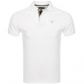 Barbour Pique Polo T Shirt White