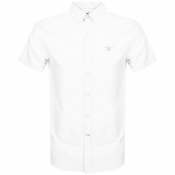 Product Image for Barbour Short Sleeve Logo Shirt White