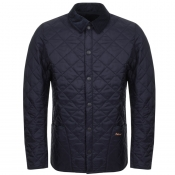 Product Image for Barbour Liddesdale Heritage Quilted Jacket Navy