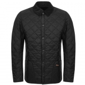 Barbour Liddesdale Heritage Quilted Jacket Black