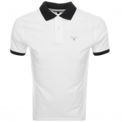 Barbour Lynton Polo T Shirt White