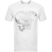 Product Image for Versace Collection Medusa Logo T Shirt White