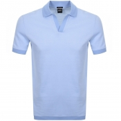 Product Image for BOSS HUGO BOSS Pye 4 Polo T Shirt Blue