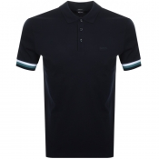BOSS HUGO BOSS Parlay 52 Polo T Shirt Navy