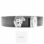 Product Image for Versace Collection Medusa Logo Belt Black