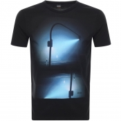 Product Image for BOSS Casual T Night T Shirt Black