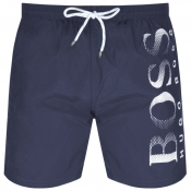 BOSS HUGO BOSS Octopus Swim Shorts Navy