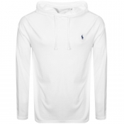 Ralph Lauren Long Sleeved Hooded T Shirt White