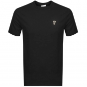 Versace Collection Medusa Logo T Shirt Black