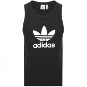 Product Image for adidas Originals Trefoil Vest Black