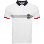 Product Image for Colmar Logo Polo T Shirt White