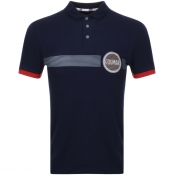 Product Image for Colmar Logo Polo T Shirt Navy