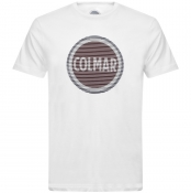 Product Image for Colmar Crew Neck Logo T Shirt White