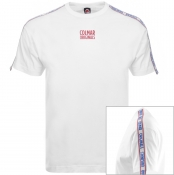Product Image for Colmar Taped Logo T Shirt White
