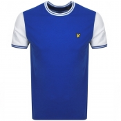Product Image for Lyle And Scott Crew Neck Tipped T Shirt Blue