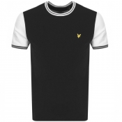 Product Image for Lyle And Scott Crew Neck Tipped T Shirt Black