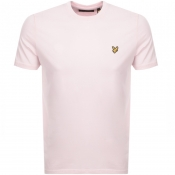 Lyle And Scott Crew Neck T Shirt Pink