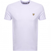 Lyle And Scott Crew Neck T Shirt Lilac