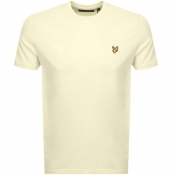 Product Image for Lyle And Scott Crew Neck T Shirt Yellow