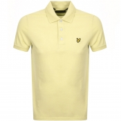 Product Image for Lyle And Scott Polo T Shirt Yellow