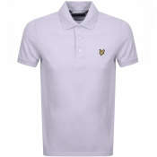 Lyle And Scott Polo T Shirt Lilac