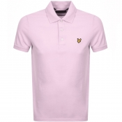 Lyle And Scott Polo T Shirt Pink