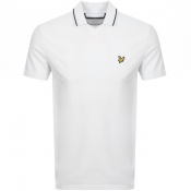 Product Image for Lyle And Scott Football Neck Polo T Shirt White