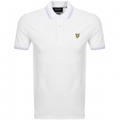Product Image for Lyle And Scott Tipped Polo T Shirt White