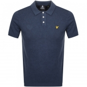 Product Image for Lyle And Scott Knitted Polo T Shirt Navy