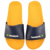 Product Image for Havaianas Brazil Logo Sliders Yellow