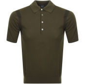 Product Image for PS By Paul Smith Knitted Polo T Shirt Green