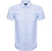 BOSS HUGO BOSS Short Sleeved Jats Shirt Blue