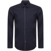 Product Image for BOSS HUGO BOSS Long Sleeved Jivan Shirt Navy