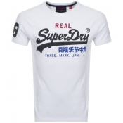 Superdry Vintage Logo T Shirt White