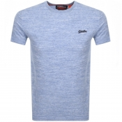 Superdry Vintage Logo T Shirt Blue