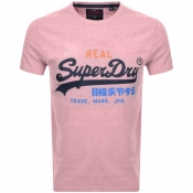 Product Image for Superdry Vintage Logo T Shirt Pink