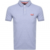 Product Image for Superdry Jersey Polo T Shirt Purple