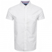 Superdry Short Sleeved University Jet Shirt White