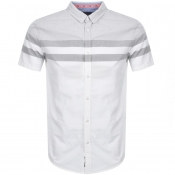 Product Image for Superdry Short Sleeved Poplin Shirt White
