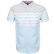 Product Image for Superdry Short Sleeved Poplin Shirt Green