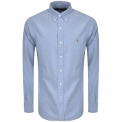 Product Image for Ralph Lauren Slim Fit Oxford Shirt Blue